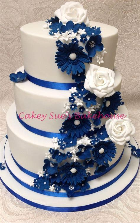 Best Blue Wedding Cake Ideas And Images On Bing Find What You Ll