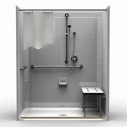 Ada Shower Piece Showers Compliant Threshold Tile
