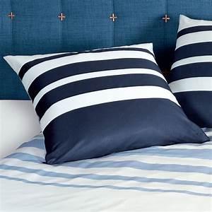 Bettwäsche Blau Weiß Gestreift : janine mako satin bettw sche j d 87028 02 blau wei marine gestreift ~ Watch28wear.com Haus und Dekorationen