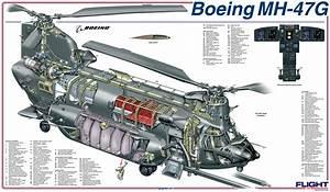 Cutaway  Boeing Mh-47g