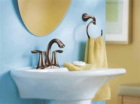 moen orb eva  handle centerset lavatory faucet oil