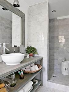 59 salles de bain chic qui vous montrent le beaute du With cacher du carrelage de salle de bain