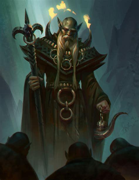 mystic deity  nathanparkart  deviantart