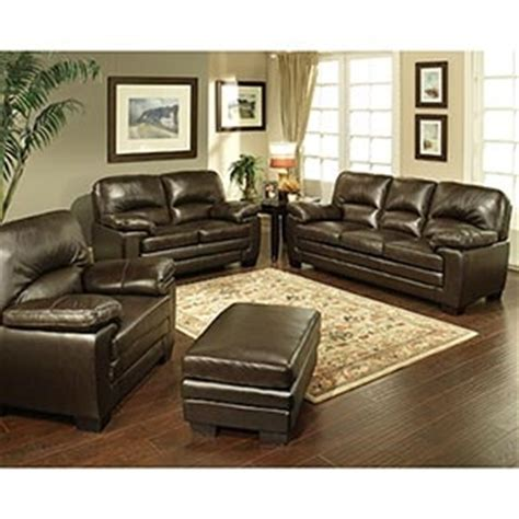 Costco Leather Living Room Set #3 Living Room, Costco