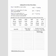 Add Ing To The Verbs  School  Verb Worksheets, Teaching Grammar, Primary English