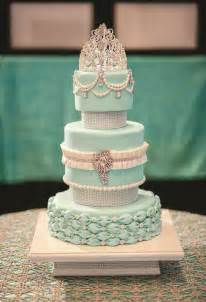 Mint Green Quinceanera Cakes