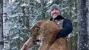 Online outrage after TV host Steve Ecklund kills cougar in ...