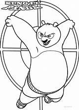 Panda Coloring Fu Kung Pages Printable Cool2bkids Printables Po Template Pandas Easy Popular sketch template