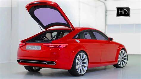 audi tt sportback concept sedan  tfsi  hp interior