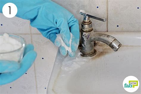 clean sink with baking soda how to clean a white porcelain sink and restore its shine