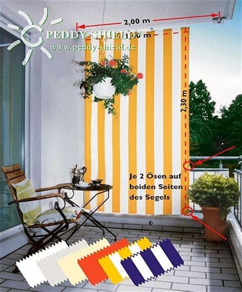 Sonnenschutz Für Den Balkon by Planungshilfen F 252 R Ihren Balkon Seilspann Sonnensegel