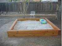 how to make a sandbox 35 DIY Sandboxes Ideas Your Kids Will Love
