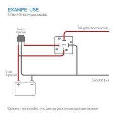 12 Volt Relay Wiring Code : electric fans with relay wiring 12 volt dc pinterest ~ A.2002-acura-tl-radio.info Haus und Dekorationen