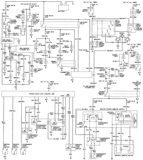 93 Wiring Diagram by 93 Prelude My Drivers Side Headlight Does Not Turn Use