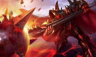 Mordekaiser Wallpapers Infernal Lol League Legends Nerfplz