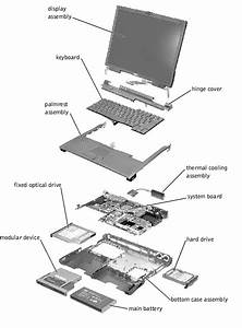 Removing And Replacing Parts   Dell Latitude C800  C805 Service Manual