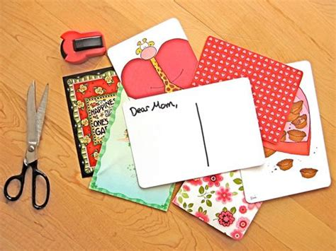 crafty ideas for old holiday cards cards good