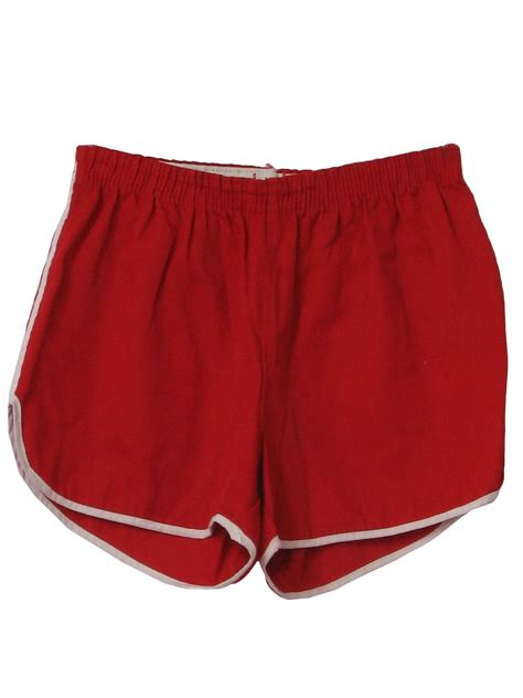 shorts size label  size label mens red