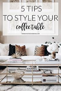 How To Style a Coffee Table The Teacher Diva: a Dallas