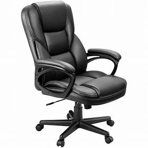 walnew, business, office, furniture, high, back, exectuive, managerial, deck, chair, adjustable, home, task