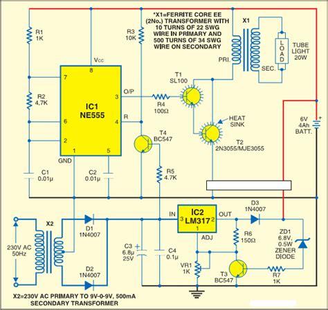 cara membuat rangkaian lu emergency otomatis muliatronik service televisi dan elektronik