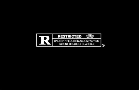 """""""r Rated Logo """" Laptop Skins By Rufinus Redbubble"""