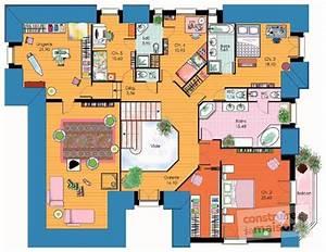 vaste maison familiale detail du plan de vaste maison With plan de grande maison