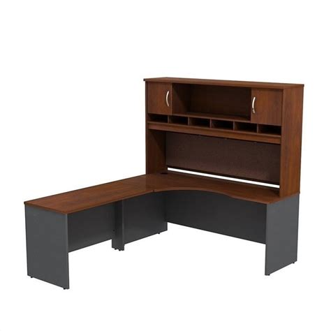 bush hansen cherry desk bush business series c lh corner desk hansen cherry