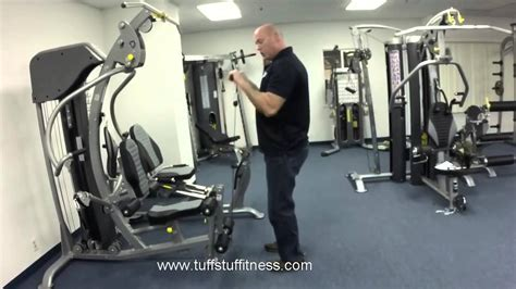 Tuff Stuff AXT-225 Classic Home Gym   Fitness Direct - YouTube