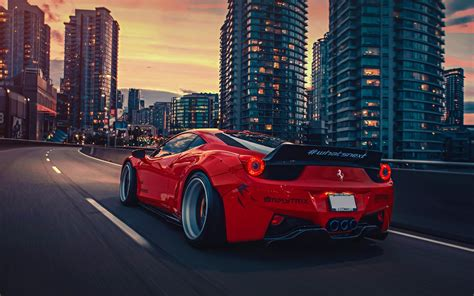 Ferrari 458 Liberty Walk Wallpaper