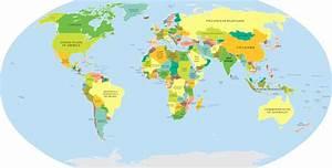 Carte du monde | Tour du monde en images – Jump Voyage
