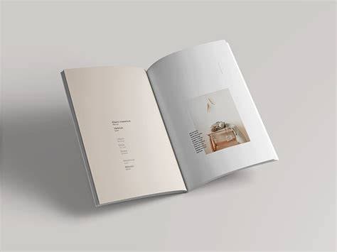 Present your booklet or flyer design the way people will love! Free Open Magazine Mockup | Book design layout, Mockup