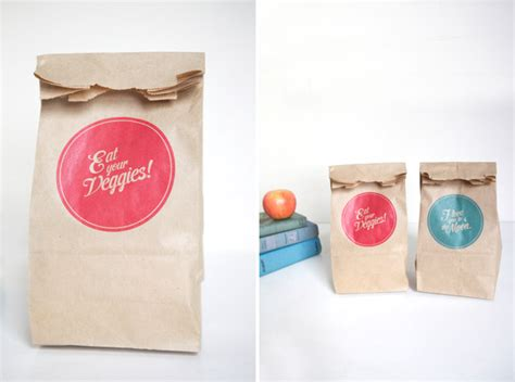 Ideas Decorating Paper Lunch Bags Hybrid Brown Paper Gift Bags