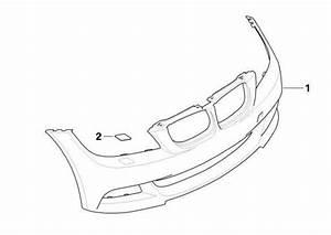 Bmw Genuine M Sport Headlight Washer Cover Right E92  E93 3 Series 61677171660