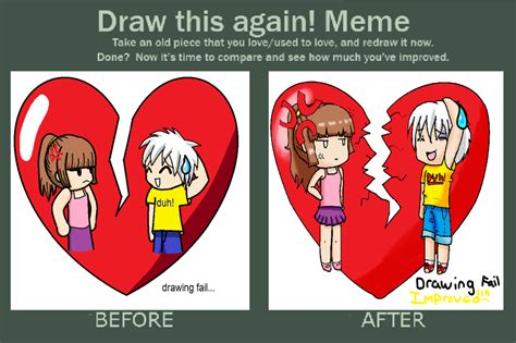 Draw This Again Meme - anime drawing fail www pixshark com images galleries with a bite