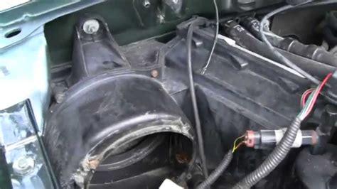 noisy blower motor repair youtube