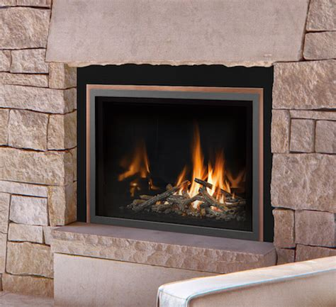 mendota full view  mod gas fireplace inserts country