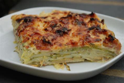 gratin courgettes et pommes de terre recette de gratin