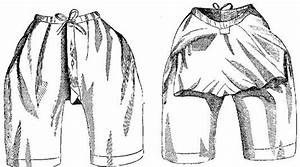Pattern For Victorian Drawers Or Bloomers