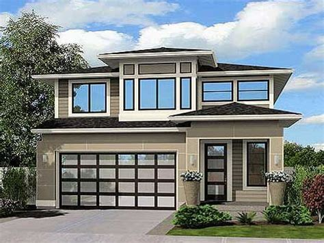 Modern Narrow Lot House Plans Contemporary Narrow House