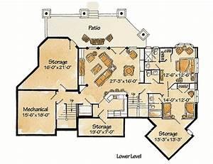 Plan, 11591kn, 5, Bedroom, 6, Bath, Log, Home, Plan