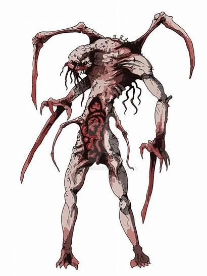 Dead Space Deviantart Necromorph Alien Monster Creatures