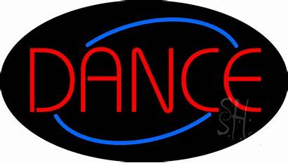Neon Dance Sign Signs Club