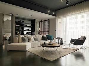 Photo Deco Salon : int rieur maison moderne avec d coration asiatique ~ Melissatoandfro.com Idées de Décoration