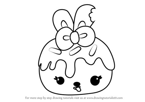 Learn How To Draw Nana Cream From Num Noms (num Noms) Step