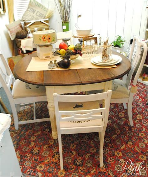 farmhouse style round dining table pinkpostcard farmhouse table and chairs my dream