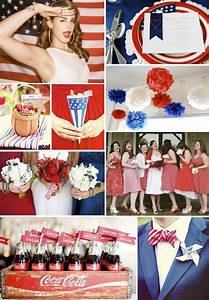 fourth of july americana wedding ideas and inspiration With fourth of july wedding ideas