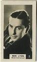 1934 Bridgewater Third Series of Movie Star Trading Cards ...