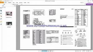 Caterpillar 953 Track Loader Electrical Schematics Manuals
