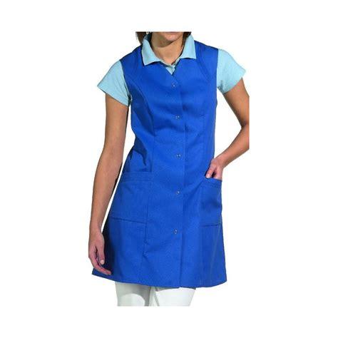 blouse de cuisine femme pas cher blouse femme sans manche boutons pression au dos